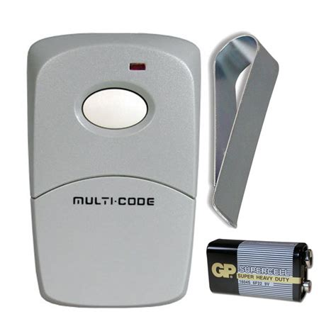 Multi Remote linear 3089 multi code single button garage or gate remote