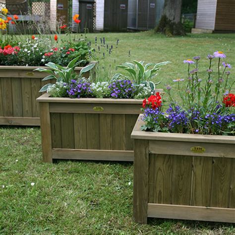 Fence Planters Uk by Wisley Garden Planters Gt Garden Products Tate Fencing
