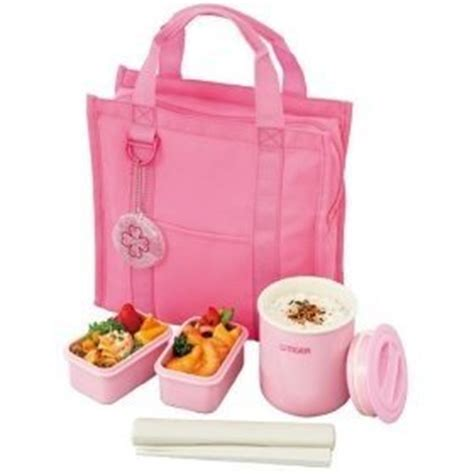 Sc2810 Tiger Pink Set japanese lunch box set tiger lunch thermos pink lwy g024pb brand kitchen dining