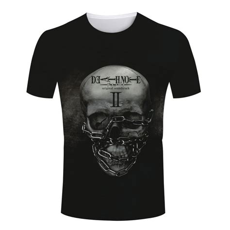 Hoodie L Logo Deathnote Lve 1 logo printing print t shirts cool note