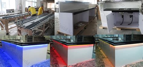 Small Bar Counter Artificial Marble Counter Home Bar Modern Commercial Decoration Marble Materials Bar