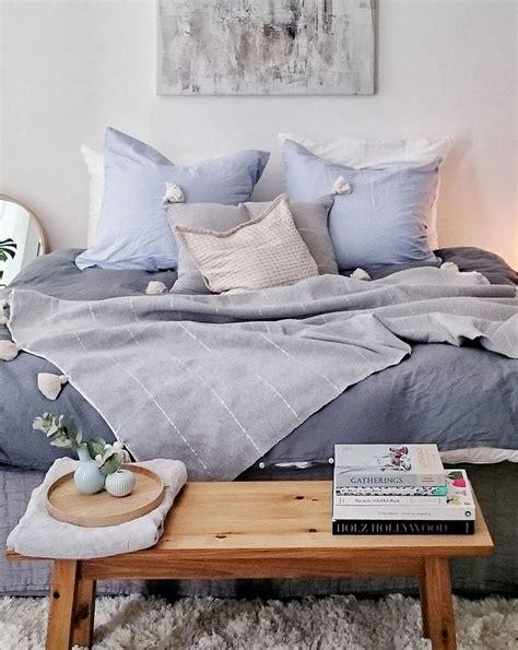 schlafzimmer blau ein traum schlafzimmer in blau und natur kombiniert