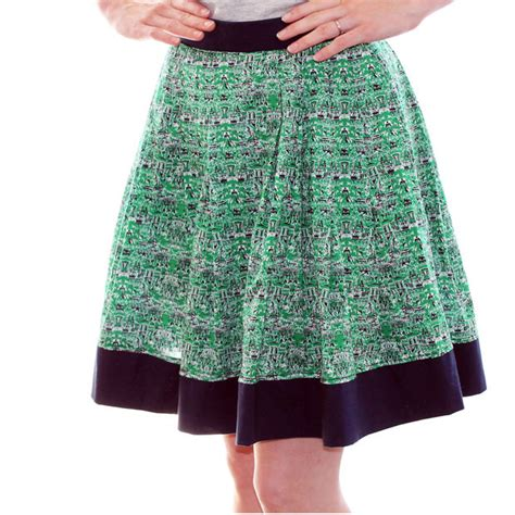 easy pleated skirt no pattern needed 4 steps with