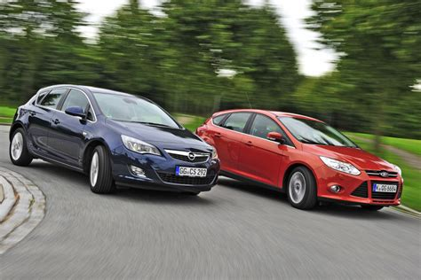 opel ford ford focus opel astra comparison