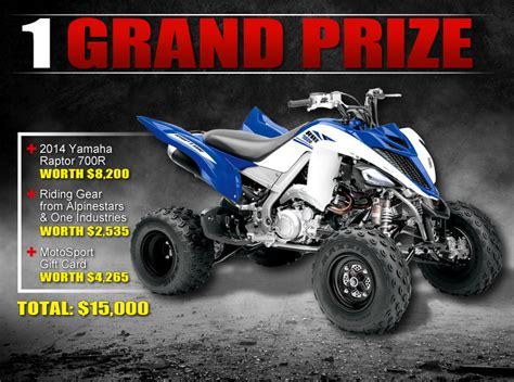 Motosport Ultimate Ride Giveaway - enter to win the motosport ultimate ride motosport