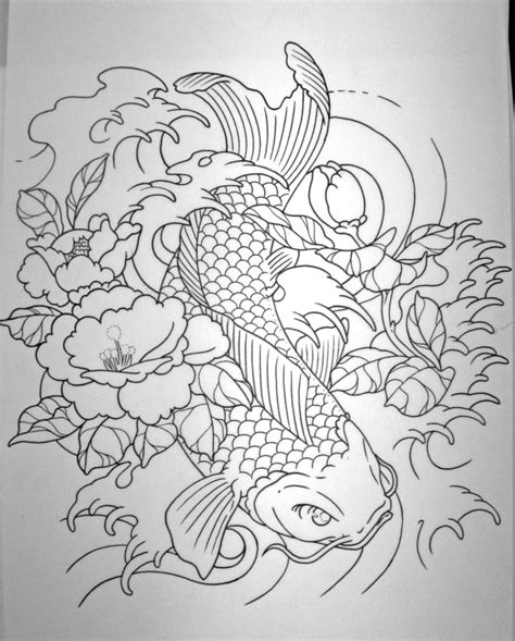 simple koi fish tattoo designs koi fish sleeve designs ideas and meaning