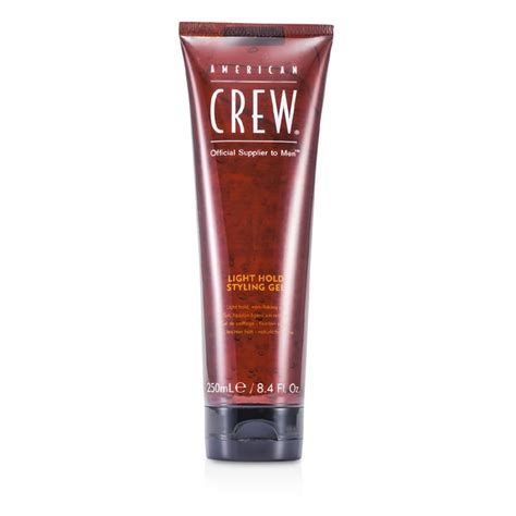 light hold styling gel crew light hold styling gel non flaking gel