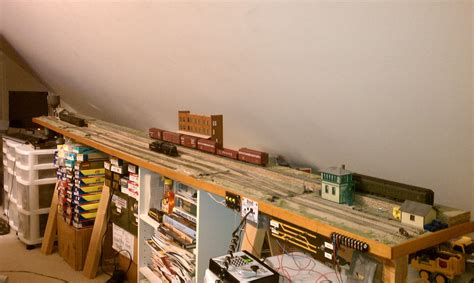Model Railway Shelf Layout by Pdf Plans Ho Shelf Layout Plans Model Set