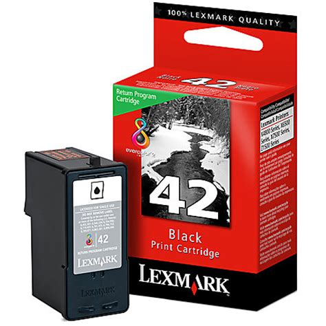 Office Depot Lexmark Ink Coupons Lexmark 42 Black Ink Cartridge By Office Depot Officemax