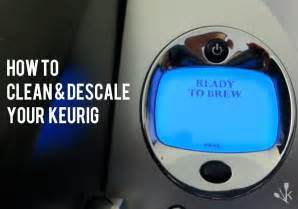 guide how to clean and descale a keurig kitchensanity