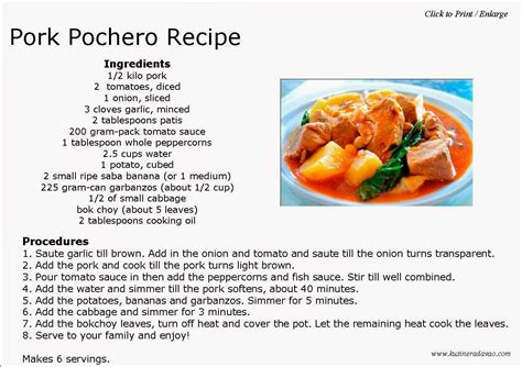 turn up the heat 40 recipes for international spicy food day to boost metabolism burn and feel fuller longer books pork pochero recipe kusinera davao