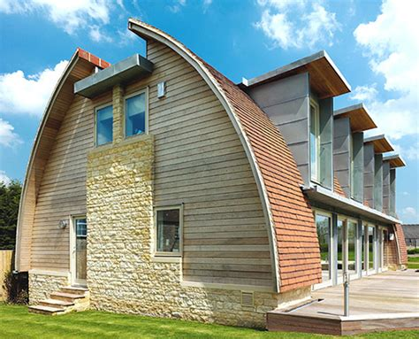 curved roof house designs curved roof house plan makes a stylish eco statement modern house designs