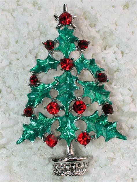 50 pcs christmas tree pins brooches wholesale bulk lot 1