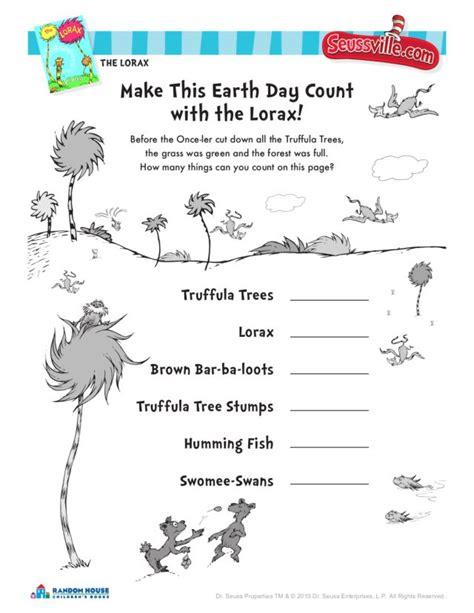Dr Seuss Math Worksheets by Dr Seuss Worksheets For Kindergarten 1000 Images About