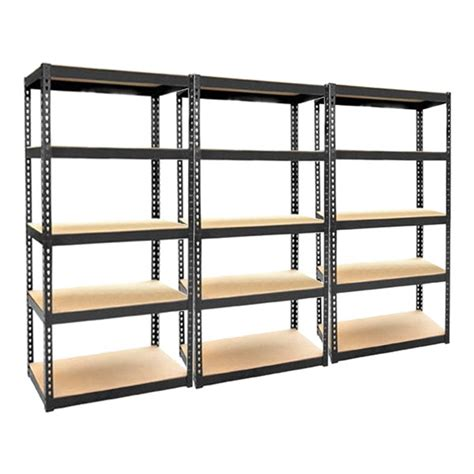 heavy duty 5 tier storage units garage shelving metal
