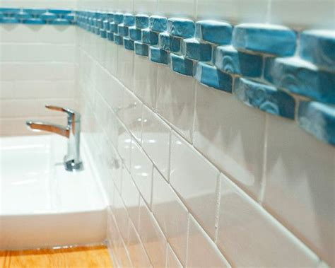 glass border tiles for bathrooms glass tile borders for bathrooms and clean but boring