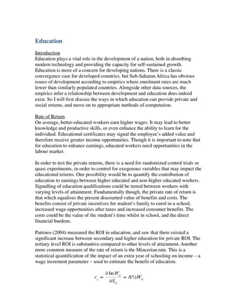 Higher Education Essay by Population Trends And Development Sle Essay Oxbridge Notes The United Kingdom