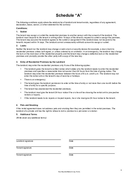 lease agreement template alberta alberta lease agreement template 28 images simple rent