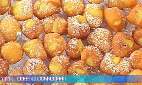 moroni dolci di casa ricette dolci dopo il tigg 236 le castagnole ripiene di