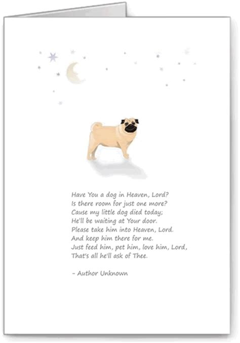 loss of a pug poem quotes sympathy poem quotesgram