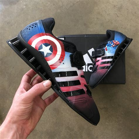 adidas adipower weightlifting shoes captain america