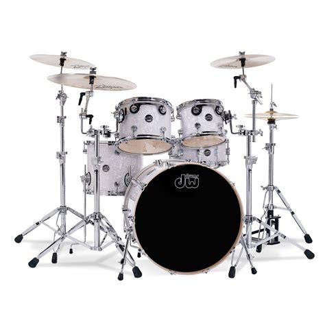 Drum White No Brand 18 dw performance white marine 171 drum kit