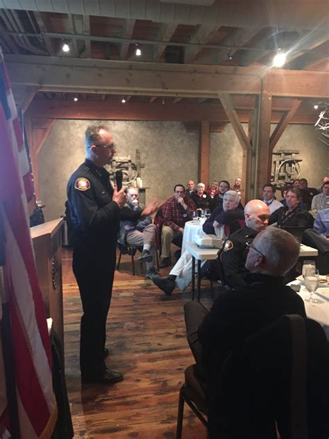 Yakima Department Records Chief And Captain Speak To The Southwest Rotary Yakima Department