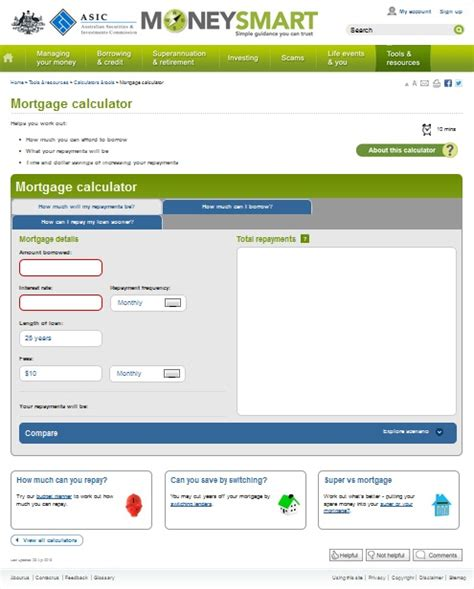 house mortgage calculator australia how much repayments on a loan cooking with the pros