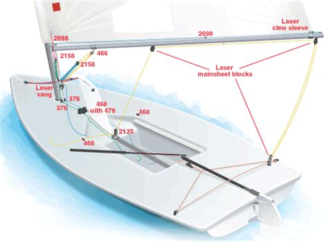 yacht rigging layout harken sailboat hardware and accessories