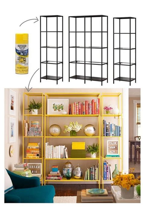 spray paint bookshelf 25 best ideas about ikea bookshelf hack on pinterest