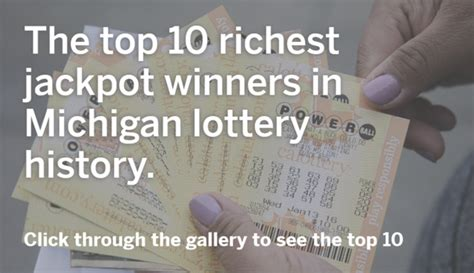 here are the top 10 richest michigan lottery winners in history mlive
