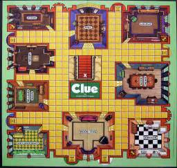 7 best images of clue board game printable clue board