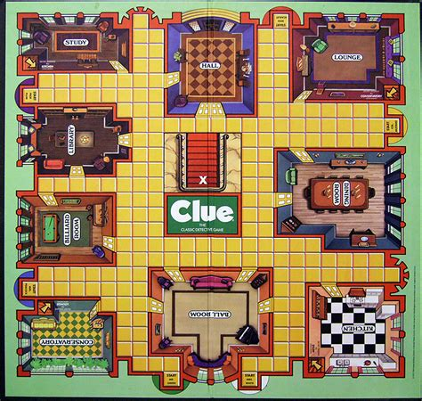 clue rooms 7 best images of clue board printable clue board rooms clue board and board