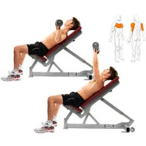 twisting dumbbell bench press incline chest dumbbell press