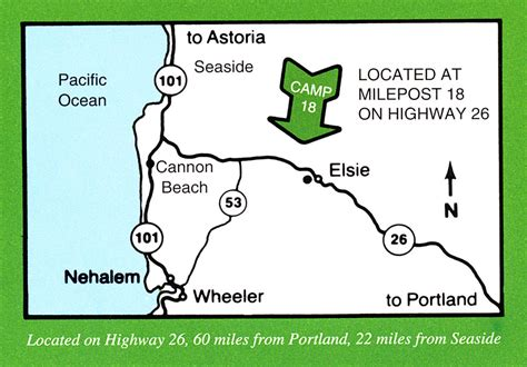 map of hwy 26 oregon map to c 18 restaurant highway 26 elsie oregon food