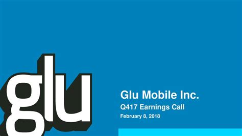 glu mobile news gluu glu mobile inc stock news and filings fintel io