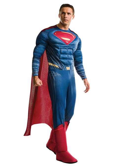 superman costume deluxe of justice superman costume