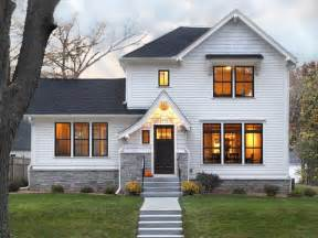 white house front door increase your houses curb appeal with a stylish black