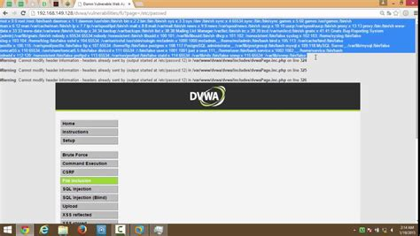 tutorial hack jaringan tutorial hack website damn vulnerable web application