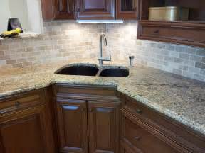 Kitchen Backsplash With Granite Countertops Floor Installation Photos Tile And Granite In Trenton Nj