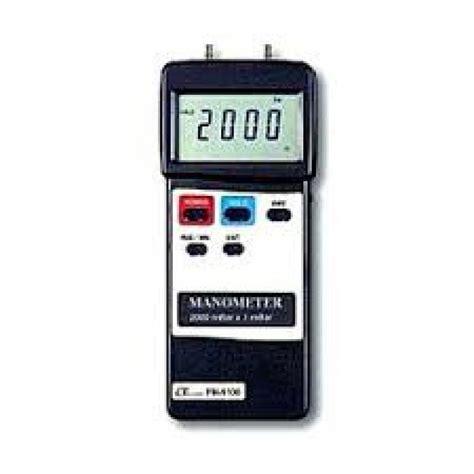 Jual Thermometer Lutron lutron pm 9170 manometer geo multi digital alat geologi survey klimatologi gps