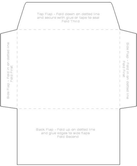 print your own envelope with this free template