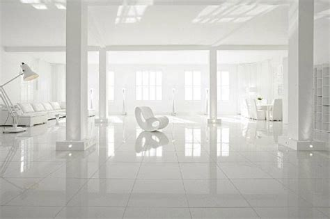 all white home interiors departamento completamente blanco