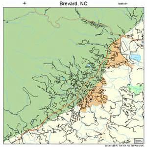 map of brevard carolina brevard carolina map 3707720