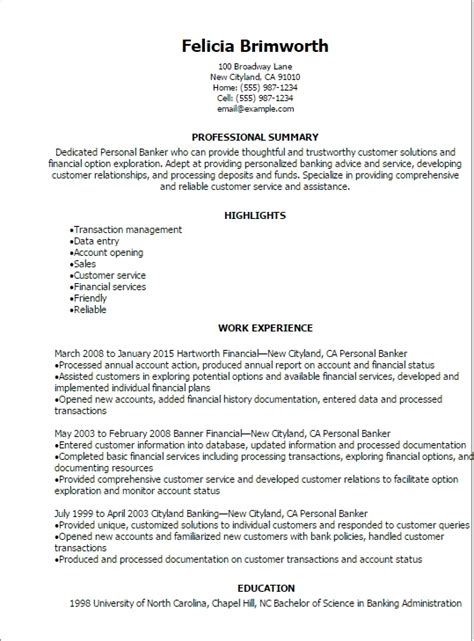 Personal Resume by Personal Statement Exles Resume Best Resume Gallery