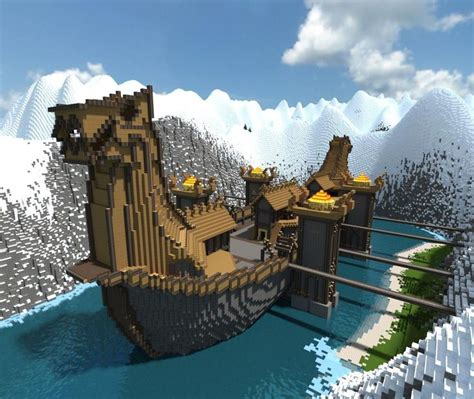 minecraft cow boat viking longship featured awesome and this is awesome