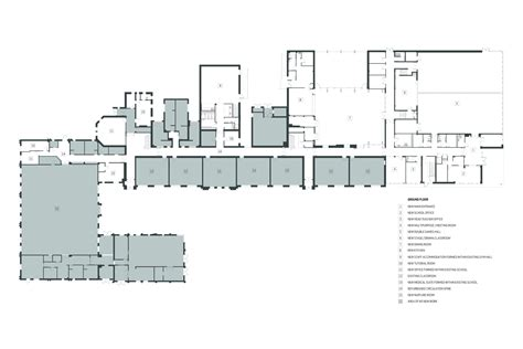 architecture school floor plan gallery of heathfield primary school holmes miller