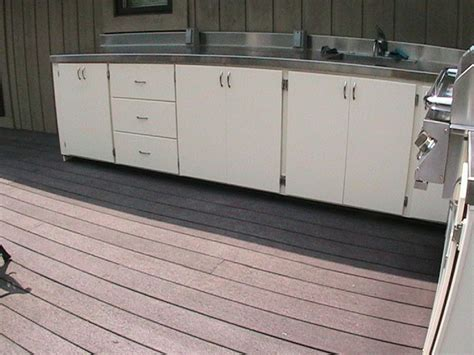 Out Door Cabinets by Kitchen How To Build An Outdoor Kitchen With Metal Studs
