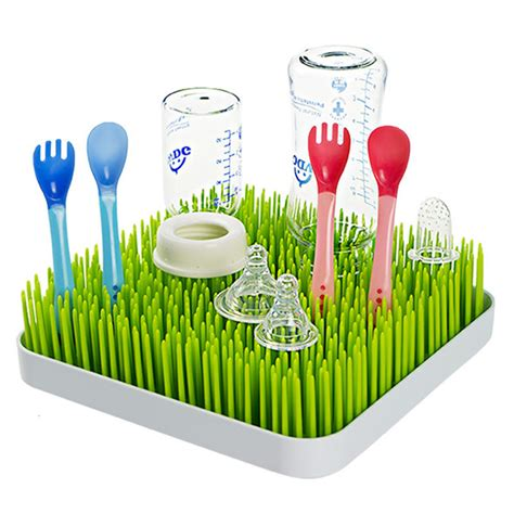 Grass Bottle Drying Rack by Baby Infant Lawn Grass Countertop Drying Rack For Bottle Spoon Ebay