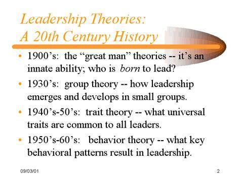 Leadership Theories Essay by Leadership Theories Essay